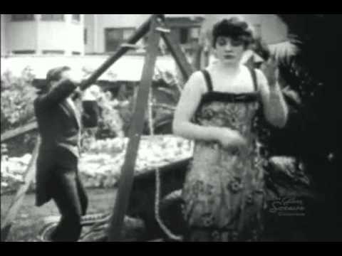 The Danger Girl (1916) Gloria Swanson - Bobby Vernon - comedy short  20:22