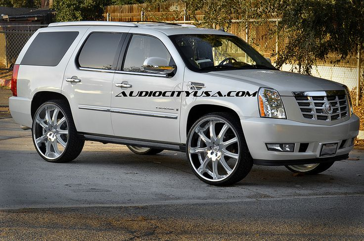 115 best cadillac escalade wheels rims images on pinterest. Black Bedroom Furniture Sets. Home Design Ideas