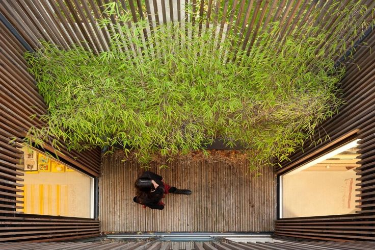 Wooden Frame House by a + samuel delmas - I Like Architecture