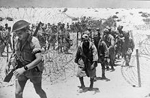 Italian prisoners in El Alamein, November 1942.