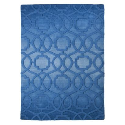 #Target #home blue area rug. Looks like a pool for your floor!