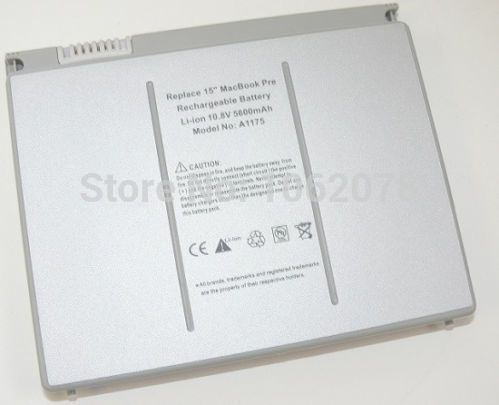 60WH BATTERY FOR APPLE MACBOOK PRO 15 INCH A1175 A1150 A1226 A1260 MA348GA NEW