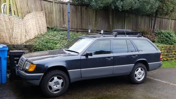 Lifted 1991 Mercedes 300TE 4matic Wagon Found For Sale On Craigslist