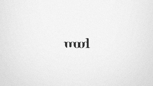 Proceso de diseño de la marca Mood.  Mood brand design process