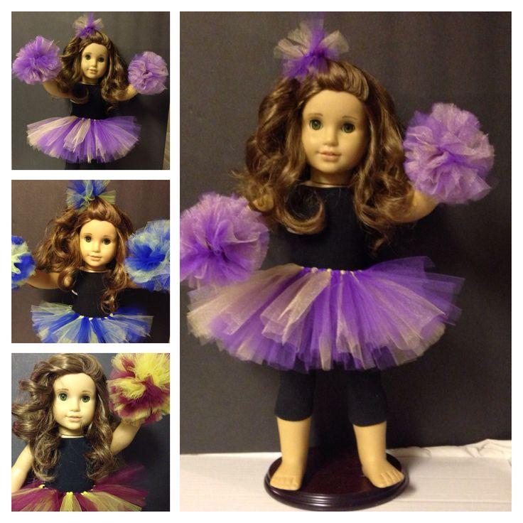 Go Huskies! Go Seahawks! Go team! Tutu cheer sets for Anerican Girl Dolls Www.facebook.com/terrific2tu