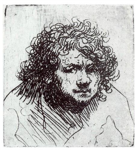 Rembrandt (autoportrait)