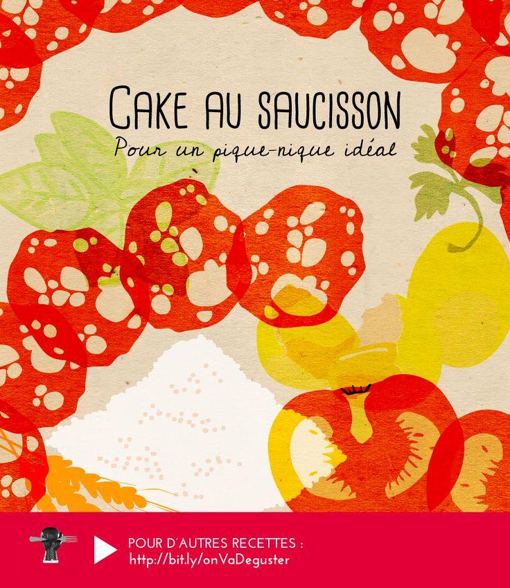 CAKE AU SAUCISSON : ou comment sublimer un classique du pique-nique entre amis ►►► RECETTE ICI : http://www.franceinter.fr/emission-on-va-deguster-lart-du-sauciflard-0