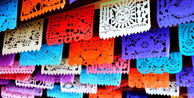 Papel Picado from San Salvador Huixcolotla