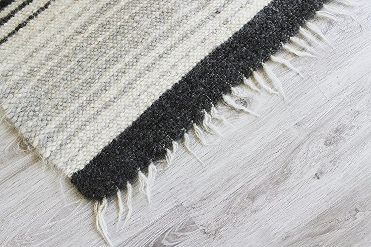 Amazon.com: Indoor Modern Area Rug, Carpet Rug Mat, Natural Sheep wool Rug, Handmade Floor Rug, Living room carpet, Scandinavian white area rug: Handmade