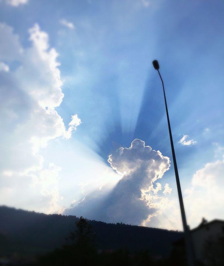 Sky - Cloud - Blue - Nature - Sun ☁️ ☁️