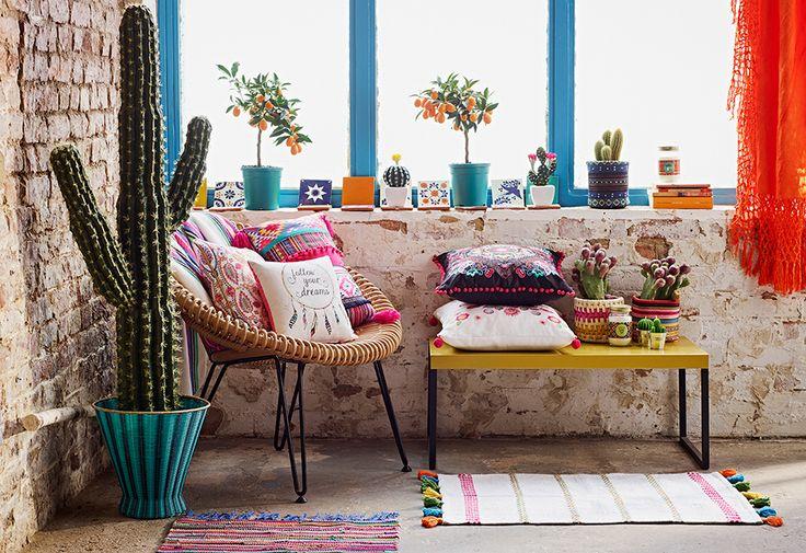 Moda hogar P/V 2016 de Primark: Fiesta mejicana