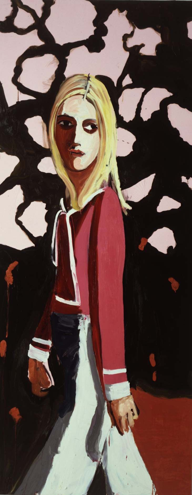 Chantal Joffe  Google Image Result for http://www.saatchi-gallery.co.uk/imgs/artists/joffe-chantal/chantal_joffe_woman_flowers.jpgBoards 305, Chantal Joffe, Viewer 2004 Oil, Artists Profile, Joffe Woman, Flowers Chants Joffe, Art Fanart Quotes Etc, Flower 2004, 124 Cm