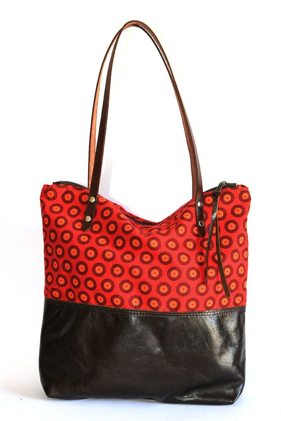African print bag by ChameleonBags $134
