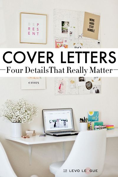 4 Big Details That Managers Are Looking For In Your Cover Letter!