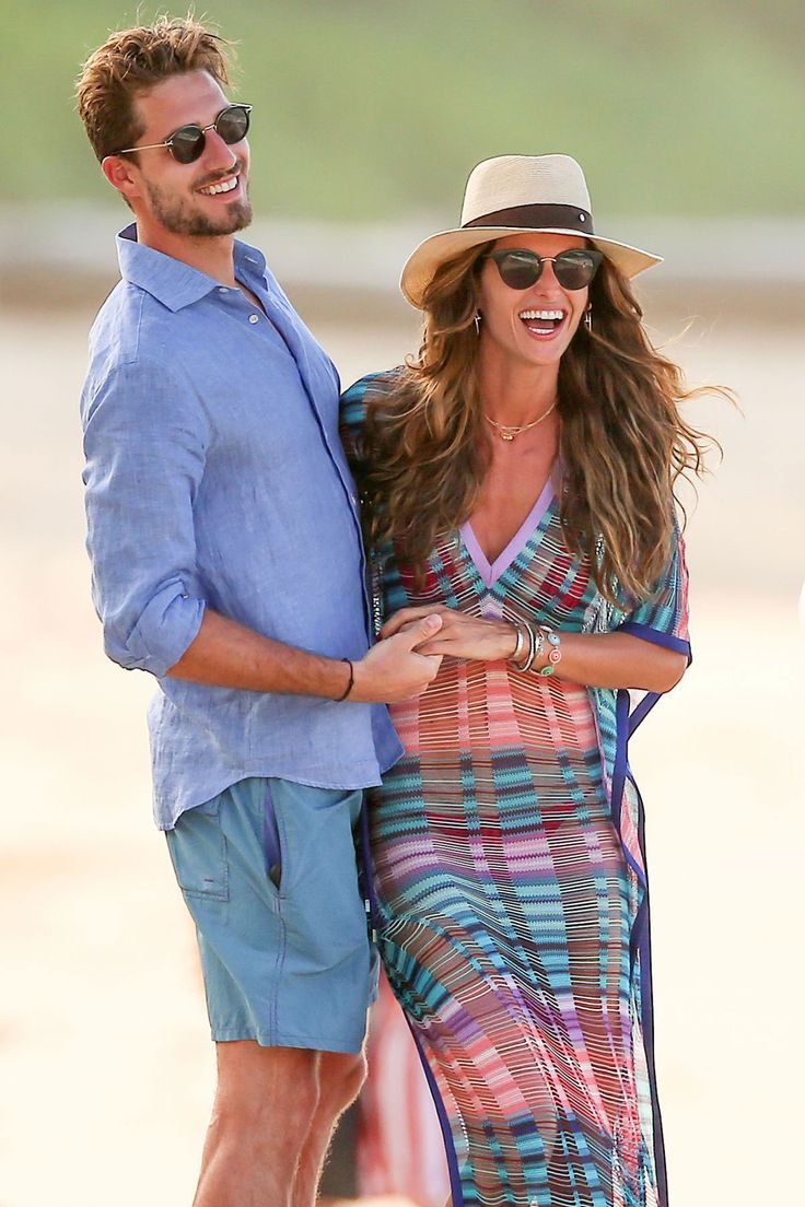 Izabel Goulart and Kevin Trapp on the Beach in St. Barth Photos