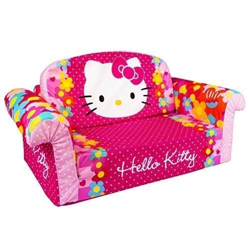 Sofa Cover Childrens Sofa Bed Furniture in Hello Kitty Foam Soft Couch Playroom Kidsroom