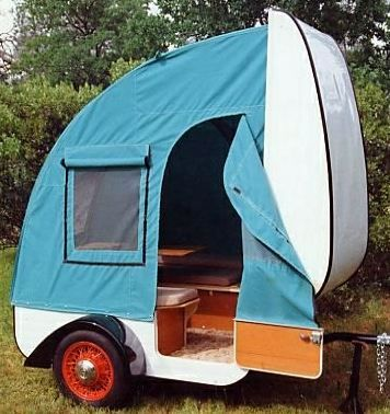 comes with tent..this is awesome