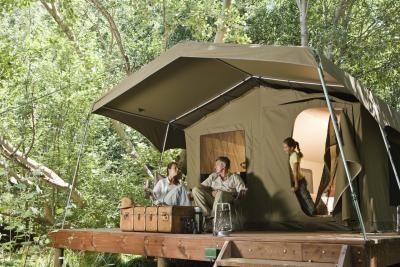 Awesome Idea For Tent Platform Camp Ideas Pinterest