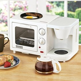 3-in-1 Breakfast Maker - perfect for a small kitchen or a child going off to college in a small dorm room!: Colleges Dorm Rooms Kitchens, Dormroom, Small Kitchens, Dorm Ideas, Dorm Recipes, 3In1 Breakfast, 3 In 1 Breakfast, Small Dorm, Breakfast Maker