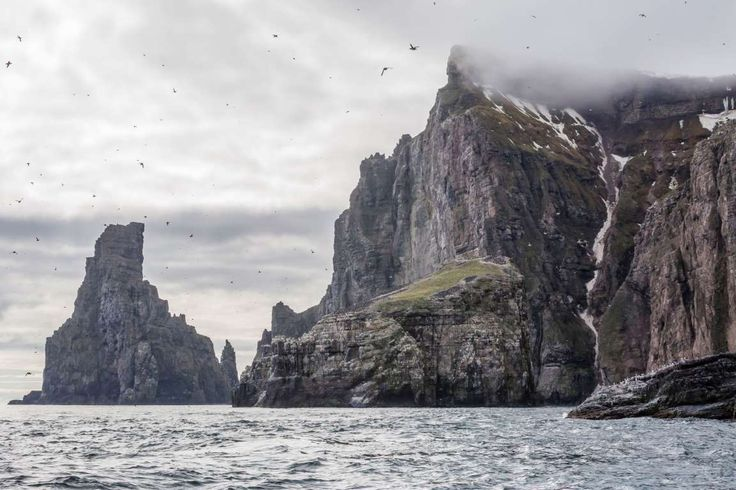 The Bear Island, or Bjørnøya, is one of the most remote islands in the world. Located in western par... - Michael Nolan / robertharding/Michael Nolan/Getty Images