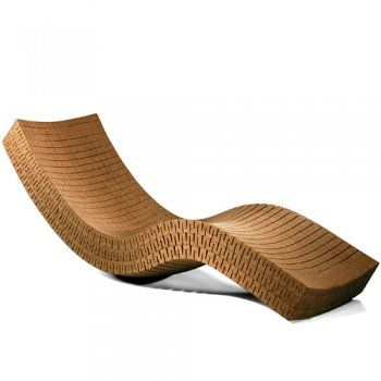 cortia chaise lounge daneil michalik cork lounger both waterproof and buoyant which