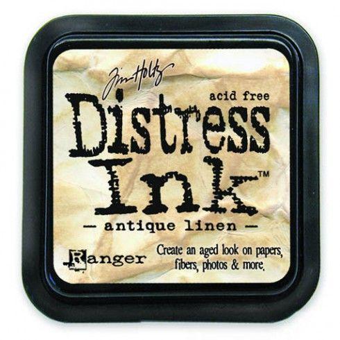 Encre Distress Ink Antique Linen. Tim Holtz 23