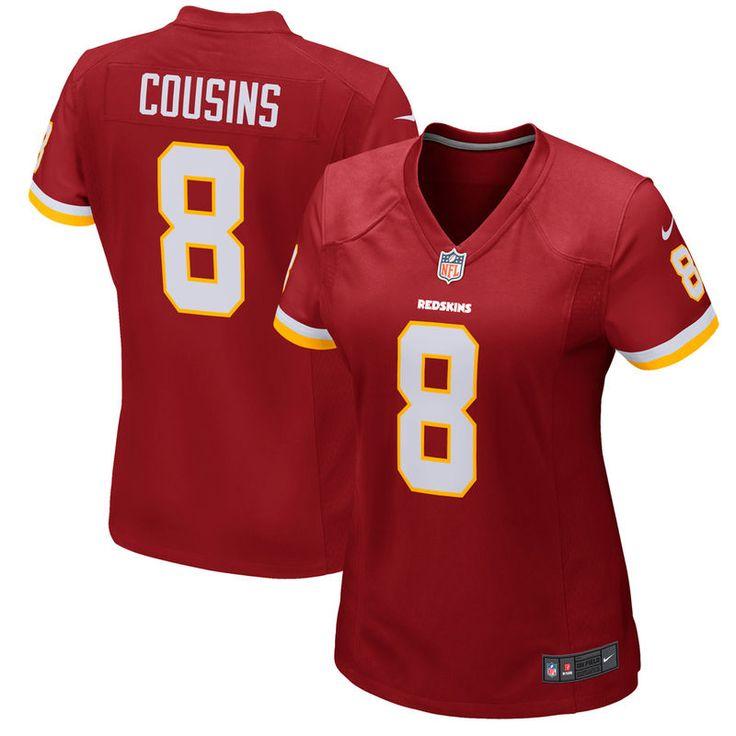 Kirk Cousins Washington Redskins Nike Women's Game Jersey - Burgundy