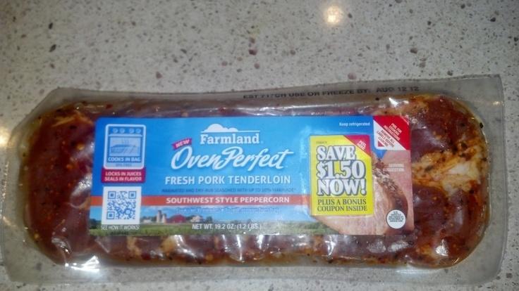 $25 American Express Giveaway and Farmland Fresh Pork Tenderloin - Enter through 8/17: Expressions Giveaways, 25 American, Fresh Pork, Farmland Fresh, American Expressions, Pork Tenderloins