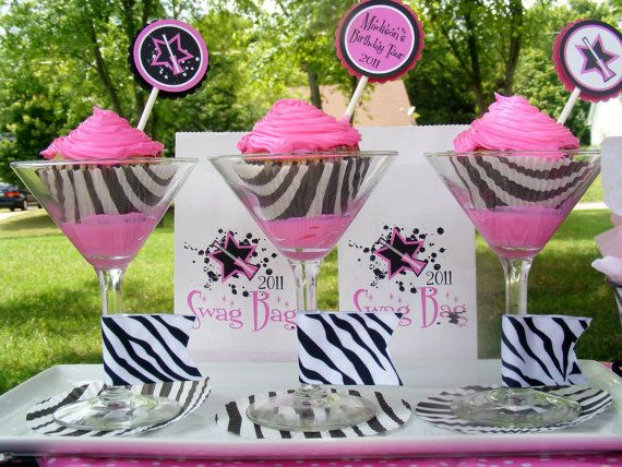 RockStar Party Package DIY Printable by ThePartyBakery on Etsy, $30.00: Parties Packaging, Stars Parties, Birthday Parties, Rockstar Parties, Rocks Stars, Rockstar Birthday, Parties Ideas, Zebras Cupcakes, Favors Tags