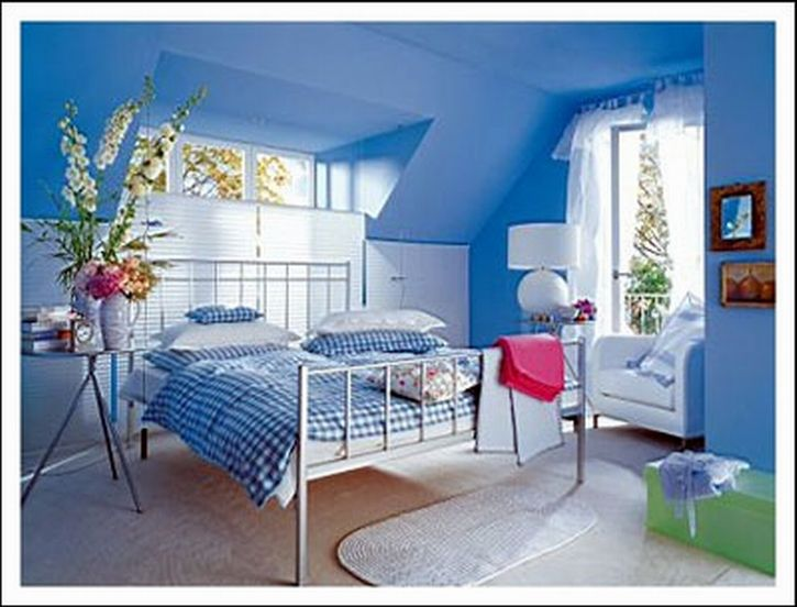 105 best Blue images on Pinterest Wall colors Blue bedrooms and