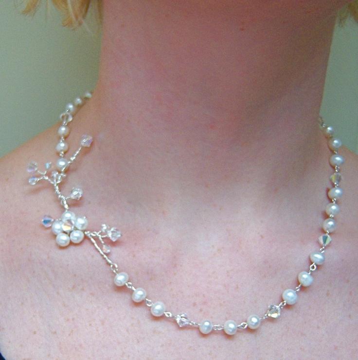 28 besten ogrlice // necklaces Bilder auf Pinterest | Draht, Draht ...