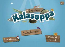 Erikoinen Kalasoppa- peli Ipadeille ja Android laitteille. Pelissä käydään läpi Itämeren kaloja hauskalla ja uudenlaisella tavalla. Kussakin pelin tasossa seikkailee aina yksi kala omassa elinympäristössään. Peliosuuden jälkeen seuraa kuhunkin kalaan liittyvä lyhyt kysymysosuus, jossa pelaaja voi syventää tietämystään Itämeren kaloista ja niiden elämästä. Peli on tarkoitettu pääasiassa biologian opetukseen peruskoulussa, mutta sitä voivat toki pelata kaikki muutkin Itämerestä ja kaloista…
