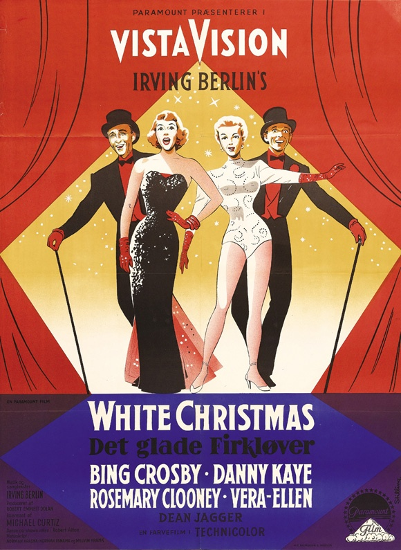 White Christmas is one of my favorite movies ever, Christmas or otherwise!! Classic.