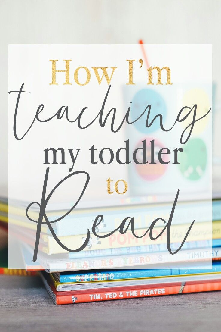 I'm teaching my toddler to read with 3 simple resources that make it so easy!