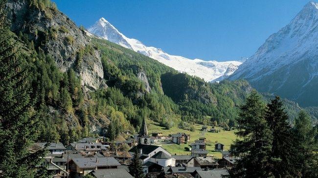 Evolène, Valais, Suisse