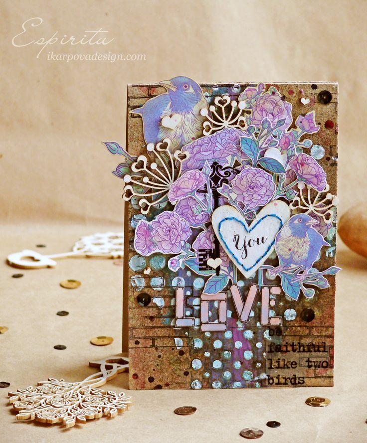 Love card http://www.ikarpovadesign.com