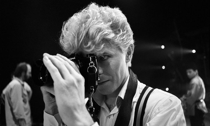 Unseen David Bowie images to be published by tour photographer   Music   The Guardian