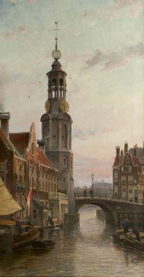 Cornelis Christiaan Dommelshuizen (Utrecht 1842-1928 Den Haag) A view of the…