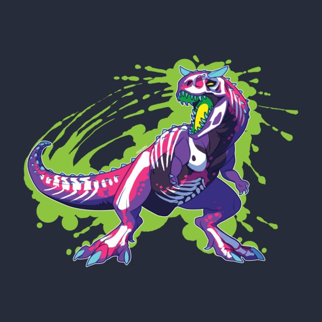 Check out this awesome 'Radioactive+Carnotaurus' design on TeePublic! http://tee.pub/lic/njtE6GLbHCk