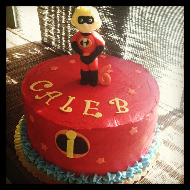 The incredibles Dash cake