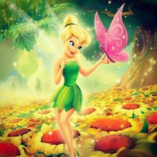 Tinkerbell & Butterfly