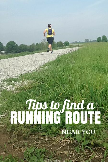 find a running route near you