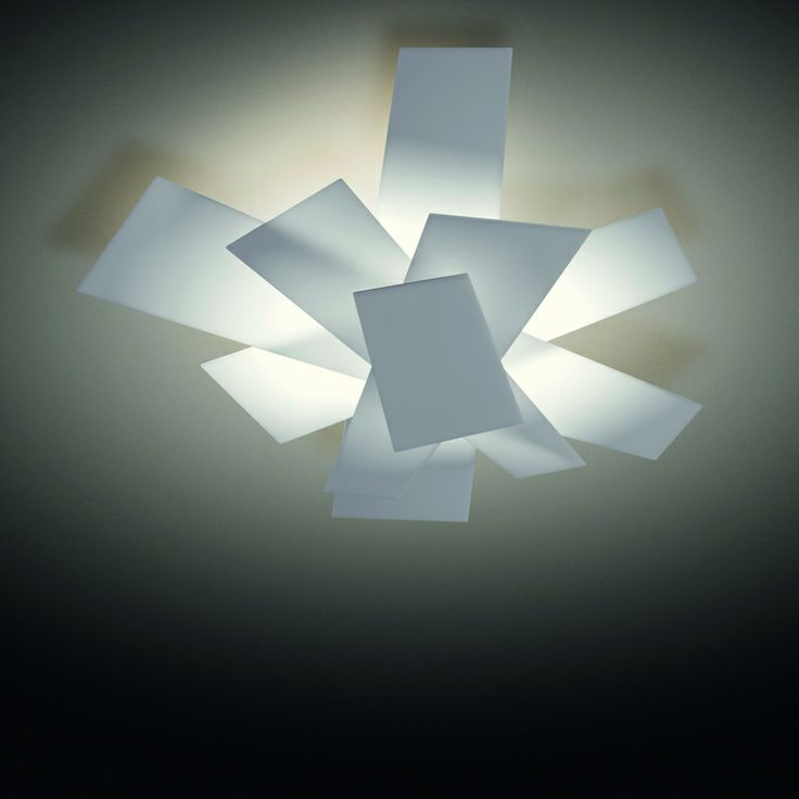 It all started with the Big Bang from Foscarini http://www.campbellwatson.co.uk/superbasket/product/7127/Big+Bang+Ceiling+/+Wall+Light+Foscarini