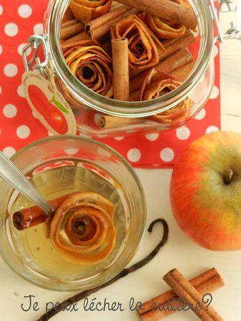 Fleurs de fruits et épices pour parfumer thé, tisanes ou vin chaud - je peux lécher la cuillère?