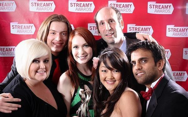 The Guild: Cast at the Streamy Awards.: Nerd Alert, Geek Stuff, Streami Awards, Geek Life, Nerdy Hilarious Th Guild, Nerdyhilariousth Guild, Guild Cast, Guild Seasons, Geek Paradis
