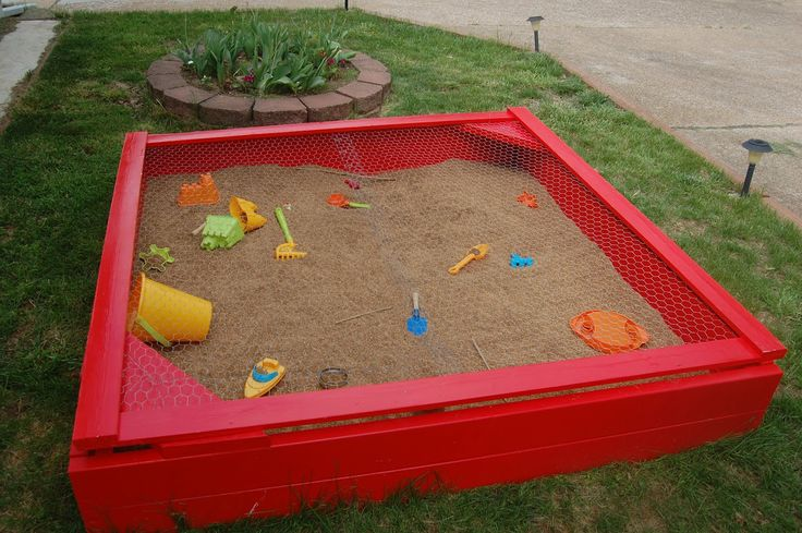 I'm told that MacKenzie already mentioned our new sandbox , but I thought I'd discuss the construction process a little bit. We decided to m...
