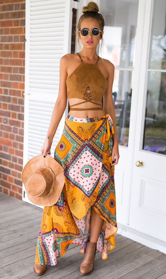 This suede crop top is perfect for a laid back comfortable look!  Subscribe to our newsletter: http://eepurl.com/bRNCWr and follow our Facebook page to
