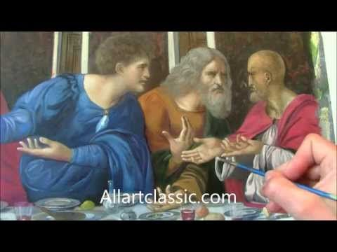 Leonardo da Vinci The Last Supper Recreation - YouTube
