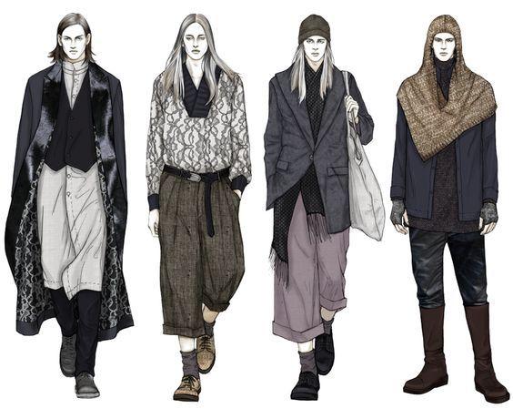 Fashion Illustrator Mengjie Di: Stylesight Menswear 2014 FW: