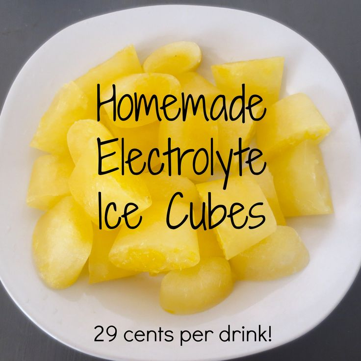 Homemade Electrolyte Drinks - to replace sports drinks! | Frugal Nutrition